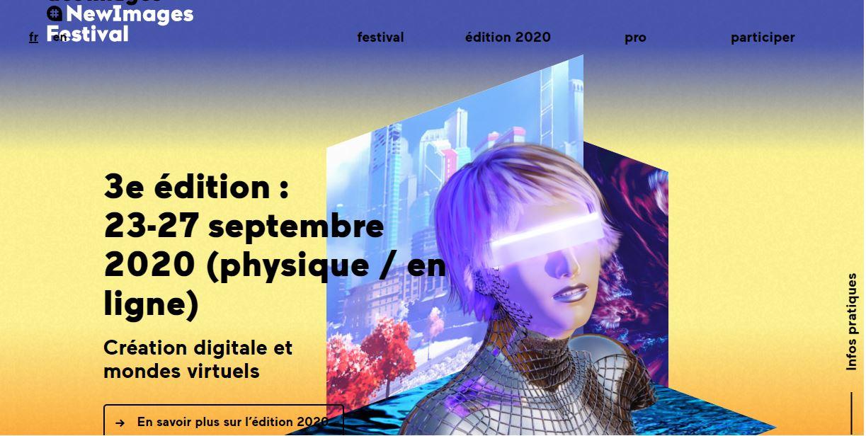 Le festival de la création numérique et des mondes virtuels