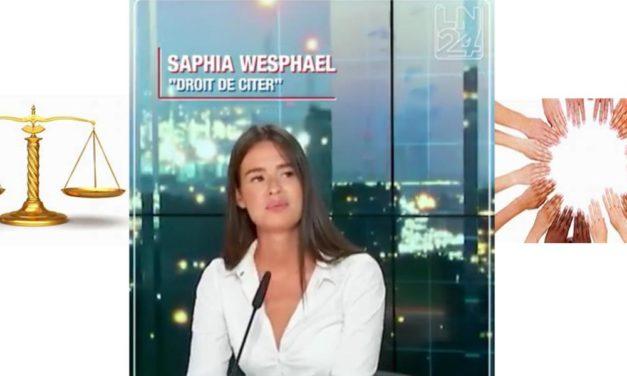 RETOUR SUR LA PREMIÈRE CHRONIQUE DE SAPHIA WESPHAEL: POURQUOI impacterA-T-ELLE ENCORE LES PASSIONNES DU VOYAGE VERS LA JUSTICE ET UN MONDE ÉPRIS D'HUMANITÉ ?