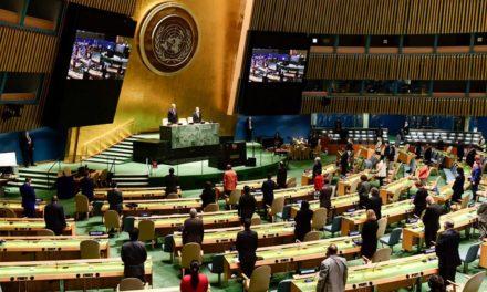 Covid-19 : élans brisés des voyages pour UNE TENUE virtuelle deS TRAVAUX LORS DE la 75ème Assemblée Générale des Nations Unies.