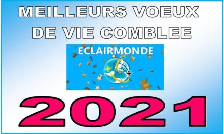MEILLEURS VOEUX DE VIE COMBLEE EN 2021