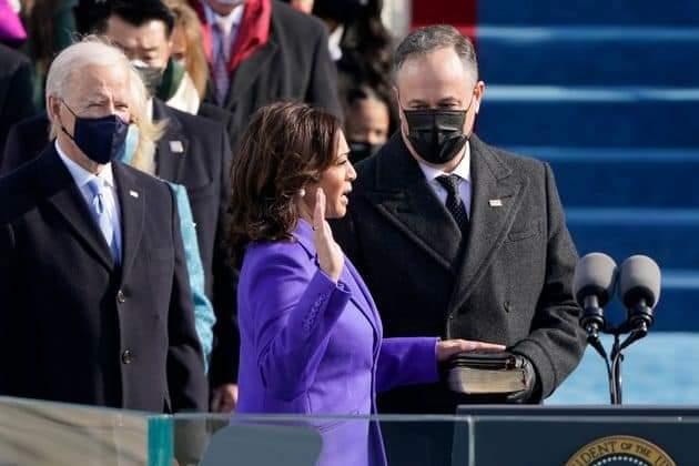 investiture du couple présidentiel aux Etats-Unis